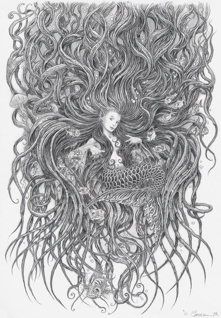 author, Ari Berk Mermaids